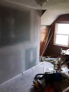 Drywall (dustless),  trim, paint and laminate/tile floor install Peterborough Peterborough Area image 5