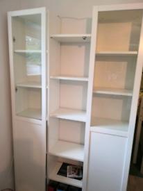Ikea Billy Shelves White x5