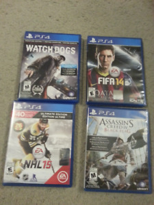 Playstation 4 PS4 games for sale