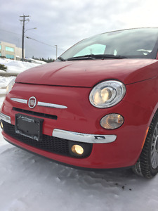 2015 Fiat 500 Lounge Coupe (2 door)