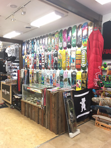HAVE ALL YOUR SKATEBOARD NEEDS COVERED!