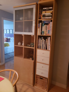 IKEA BILLY cabinet and bookcase $125