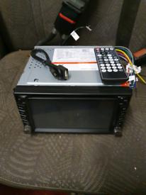 DVD SAT NAV GPS RADIO CAR AUDIO
