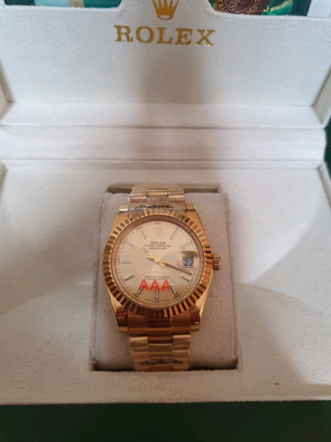 Date-just full gold colour watch 3   in Moston, Manchester   Gumtree