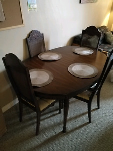 $165 OBO solid wood dinning table