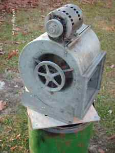squirrell cage blowers and a A coil
