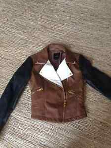 Trendy little moto jacket - size 4