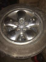 "Dodge Ram 20"" Rims and Tires"