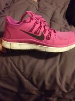Nike free runners and Micheal kors heel sandal! In size 9