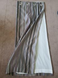 Purple of pair blackout curtains