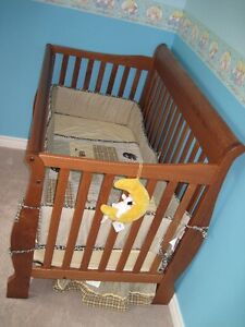 Solid Wood Convertible Baby Crib in great condition.