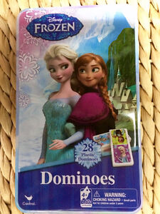 Snug as a Bug in a Rug Kids Board Game, Frozen Dominos Game