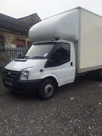 Ford transit luton box van, 2010 Reg, big jumbo box