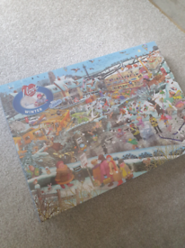 I love winter mike jupp brand new 1000 puzzle