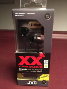JVC Xtreme Xplosives Deep Bass Headphones