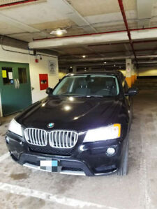back to home country, 2012 BMW X3 SUV for sale, $14999