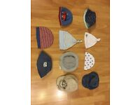 Assortment of baby hats in great condition