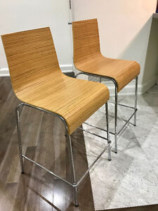3 commercial counter stools