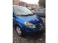 Renault grand scenic 7 seater 1.5dci 2005 (55 plate)