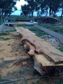 Lucas Mill , portable sawmill , timber mill , slab cutter Yarrawonga Moira Area Preview