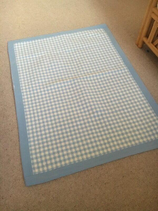 Blue Gingham Rug Area Rug Ideas