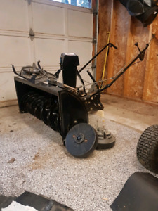 """MTD 42"""" Two Stage Snow Thrower Attachemnt FOR SALE"""