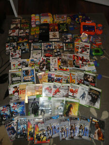 163 Video Games Plus 2 Consoles