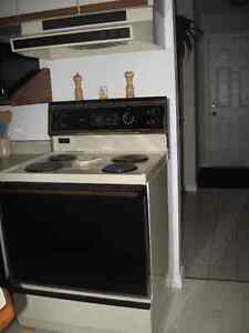 Kenmore matching fridge and stove