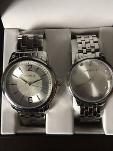 Caravelle New York His and Hers Watch Set