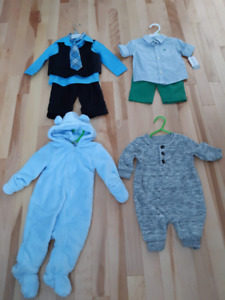 0-9 month boy clothing . never worn . excellent condition