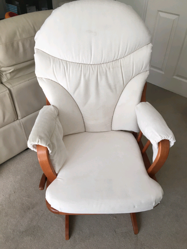 Sensational Dutailier Glider Nursing Chair And Stool In Waterlooville Hampshire Gumtree Ncnpc Chair Design For Home Ncnpcorg