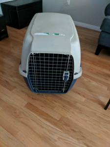 Med-large dog kennel perfect condition!