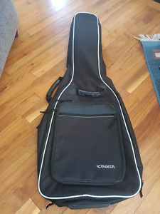 Voyageur Acoustic Guitar Case Backpack Soft Padded Case