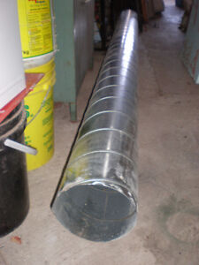 "8"" GALVONISED PIPE 10' LONG"
