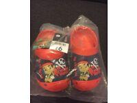Disney Jake pirate croc shoe sz 7 new!