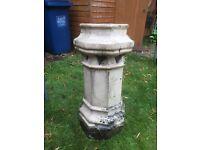 4 Reclaimed Victorian Chimney Pots