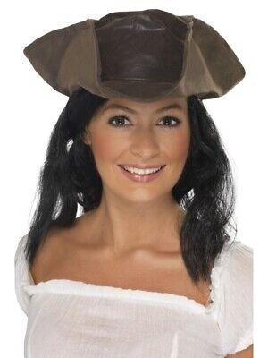 Piratenhut mit Perücke Hut und Haar Piratenkostüm - Piraten Kostüm Haar