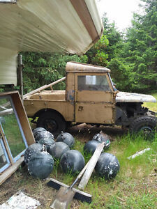 Two Land Rover Series 1s for sale