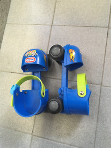 PATINS AJUSTABLES - LITTLE TIKES