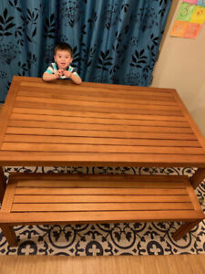 Table for sale(EUC)  Needs to be gone.