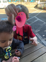 3-5 yr childcare flexible hours and rates