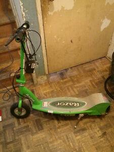 Razor e200 electric scooter.