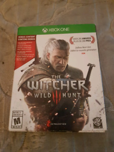 Witcher 3 wild hunt Xb1 trade for ps4 copy or $35