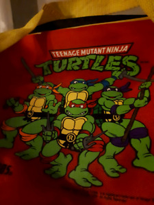 1988 80s Retro Toy Mirage TMNT Thermos Lunch Bag