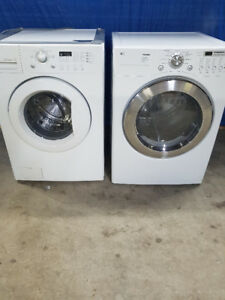LG Front Load Washer Dryer Huge Energy/Water Savers