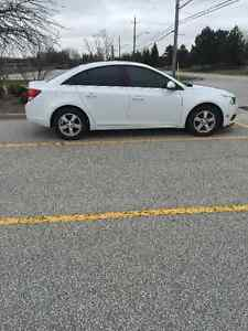 NEW PRICE 2012 Chevrolet Cruze, White, Manual, Great Condition