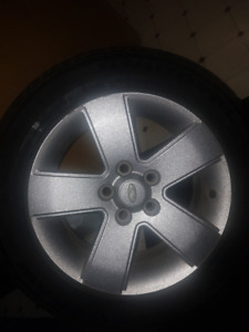 Tiger Paw 205/60R16 two tires with rims