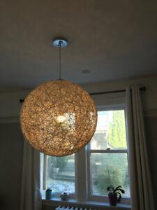Beautiful Modern Globe Pendant Chandelier