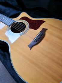 CUSTOM BUILT SX34CE Electro acoustic guitar+CASE+ DELIVERY