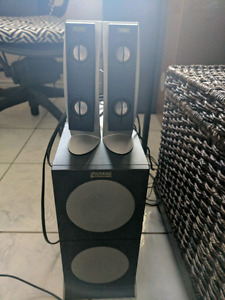 Altec Lansing speakers and Subwoofer